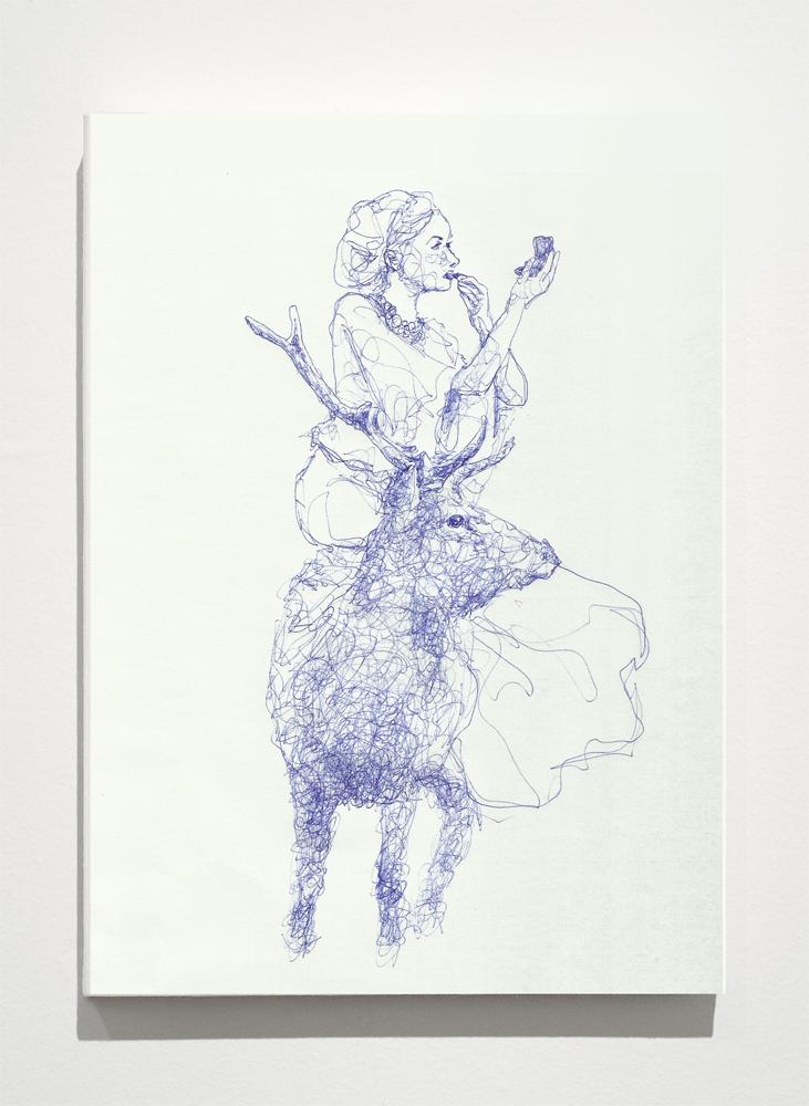 Deer_wood-panel-2