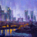 Along-Central-Park-East---Night
